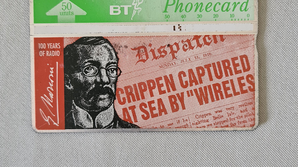 Dr.Crippen Vintage Phonecard