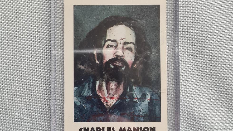 Charles Manson Hair Sample