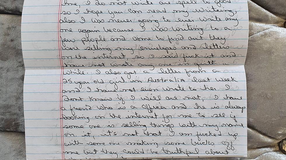 Michael Scott Magliolo Letter