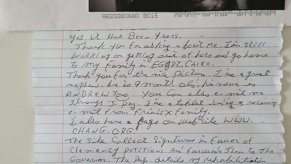 Omaima Aree Nelson Letter & Envelope Set