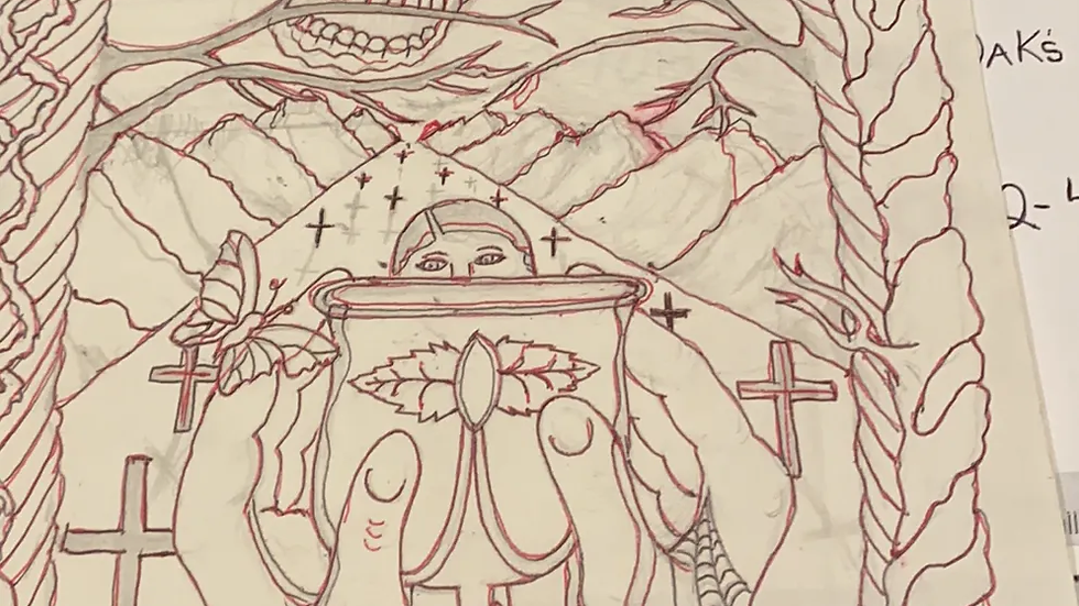 """Glen Rogers """"Casanova Killer"""" Art & Envelope Set"""