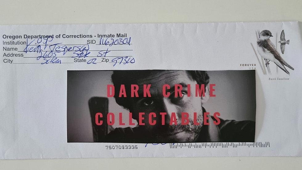 "Keith Jesperson ""Happy Face Killer"" Handwritten Envelope"