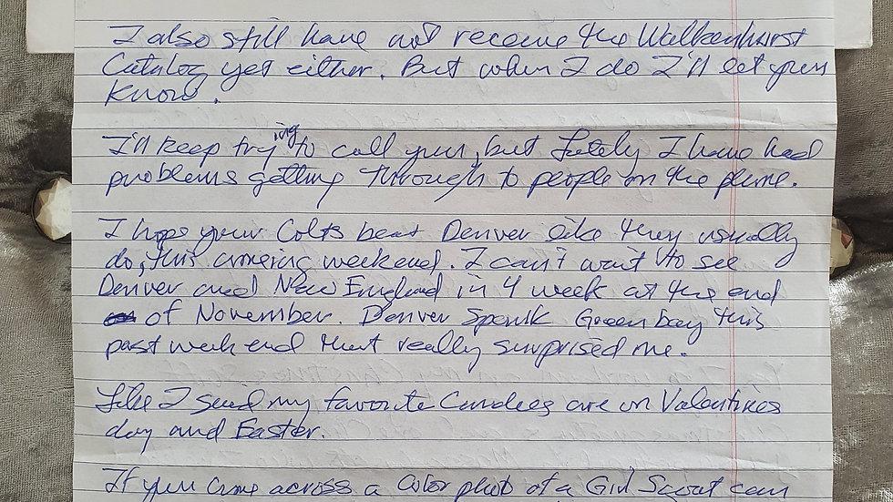 Hadden Clark Letter