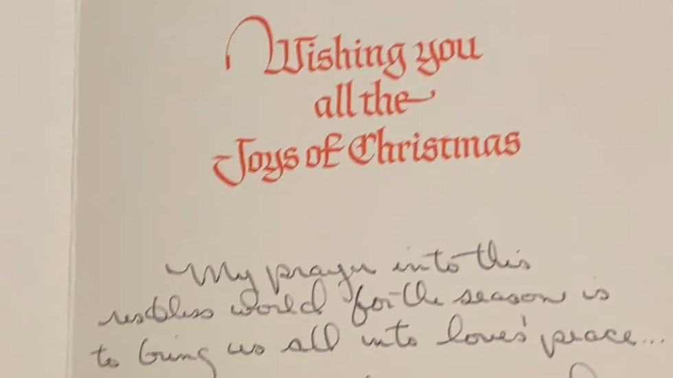 "Patricia Dianne Krenwinkel ""Manson Family"" Card & Envelope Set"