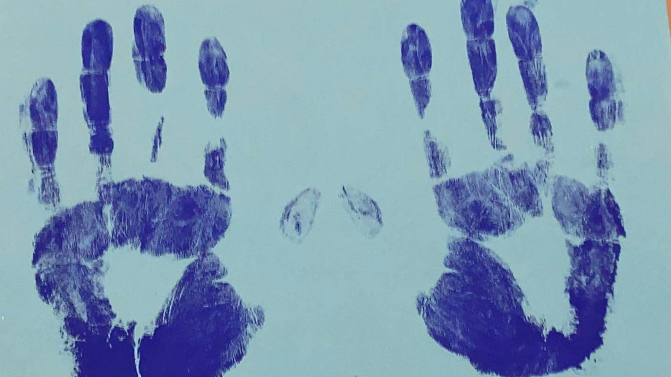 """Michelle Anderson """"Carnation Murders"""" Hand Prints Signed"""