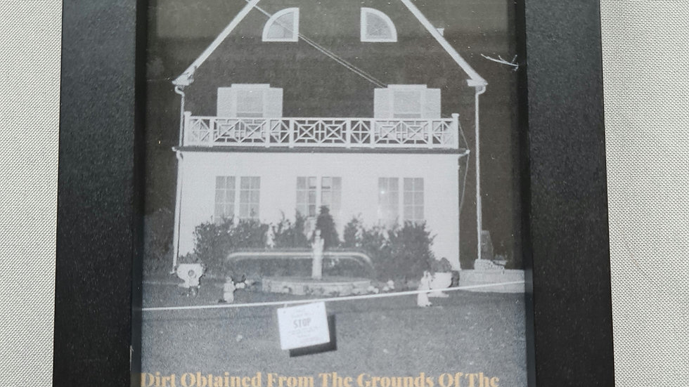 Amityville Horror Framed Relic