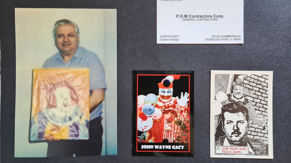 John Wayne Gacy Display