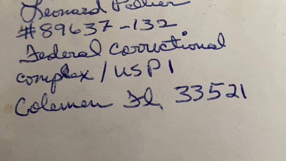 Leonard Peliter Letter & Envelope Set