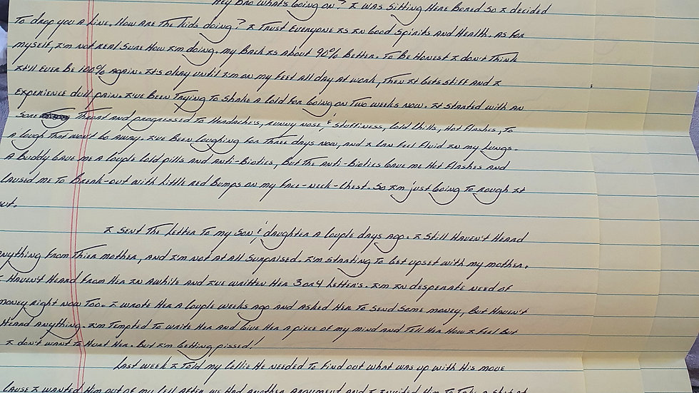 David Bruce Letter