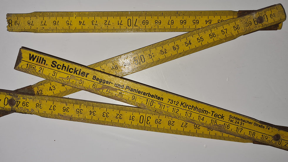 Armin Meiwes Wooden Ruler