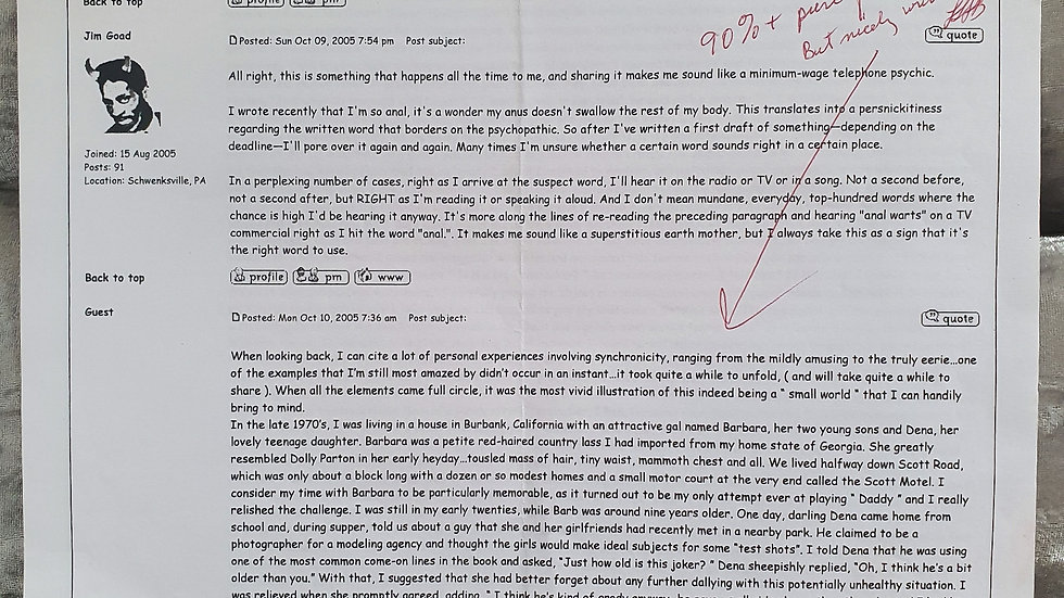 """Lawrence Bittaker """"Toolbox Killer"""" 5 Page Signed Sheet"""