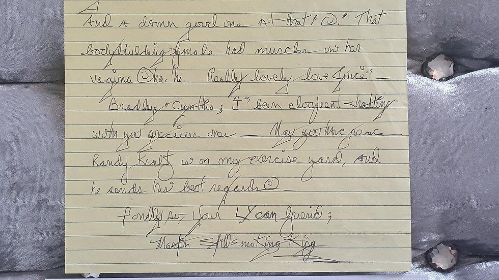 Martin Kipp Letter