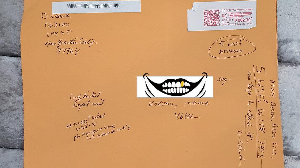 Douglas Clark Envelope