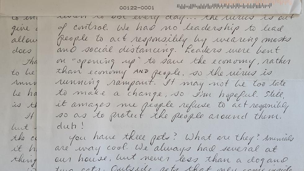 Elmer Wayne Henley Letter