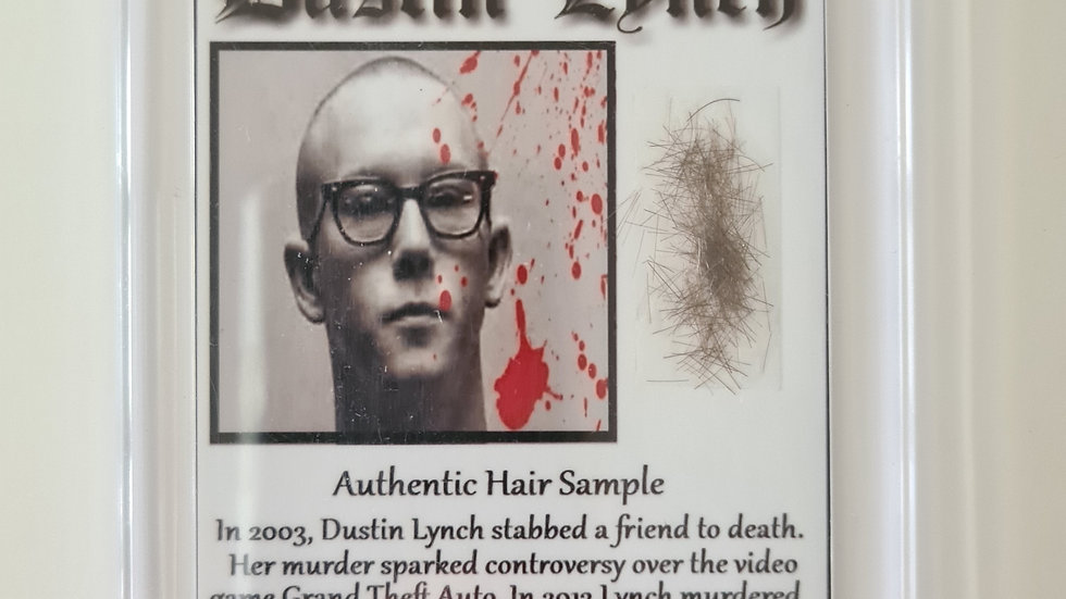Dustin Lynch Cased Hair Sample