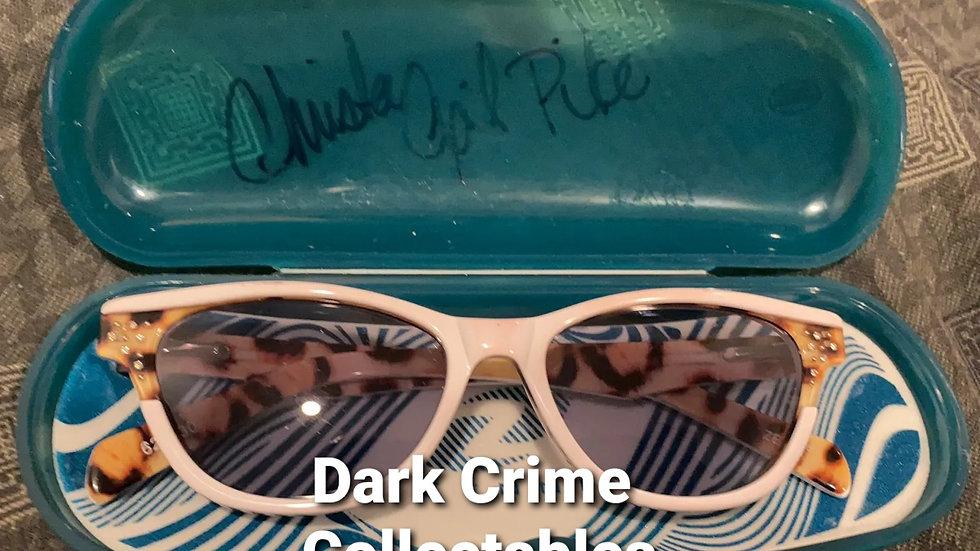 Christa Pike Worn Signed Sunglasses