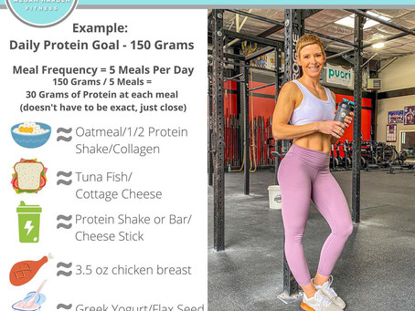 Nutrition Tip: How To Reach Your Daily Protein Goal