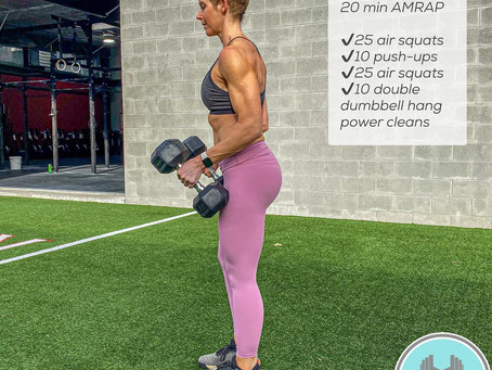 Workout: Fit Friday 20 Minute AMRAP