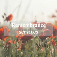 Remembrance Services