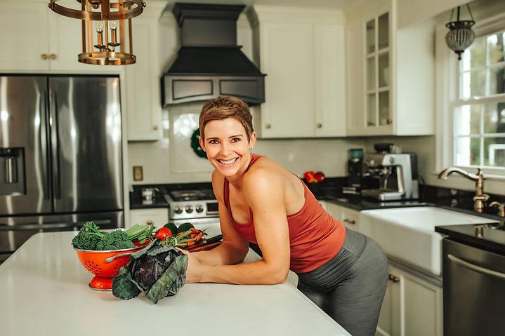 Megan Coach Fitness Nutrition Macros Kitchen