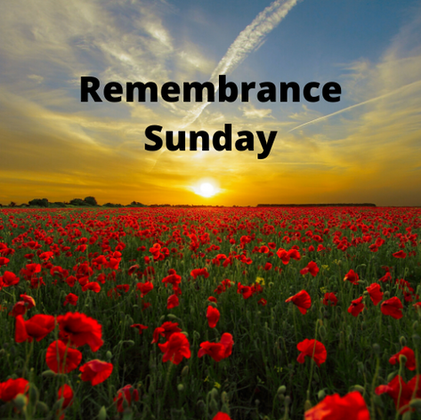 Remembrance Sunday 2019