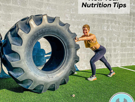 14 Nutrition and Fitness Tips to Start Off the New Year Right! (Tips 1-7)