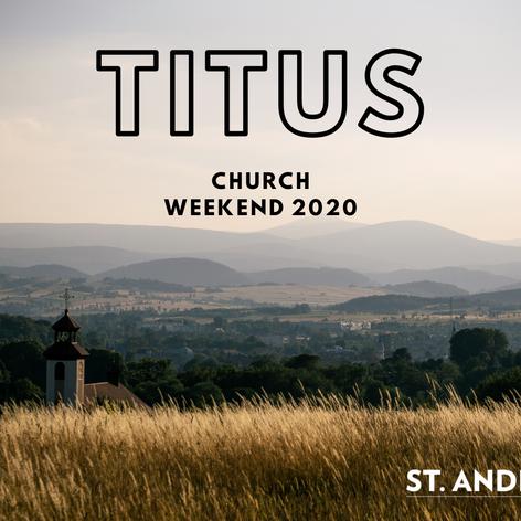 Church Weekend 2020