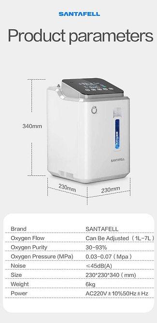 SANTAFELL 7LI OXYGEN CONCENTRATOR