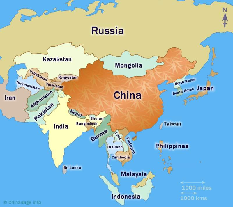 China's Neighbouring Countries
