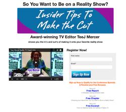 The Reality TV Coach TeeJ Mercer