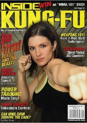 Kung Fu Magz Gina Carano