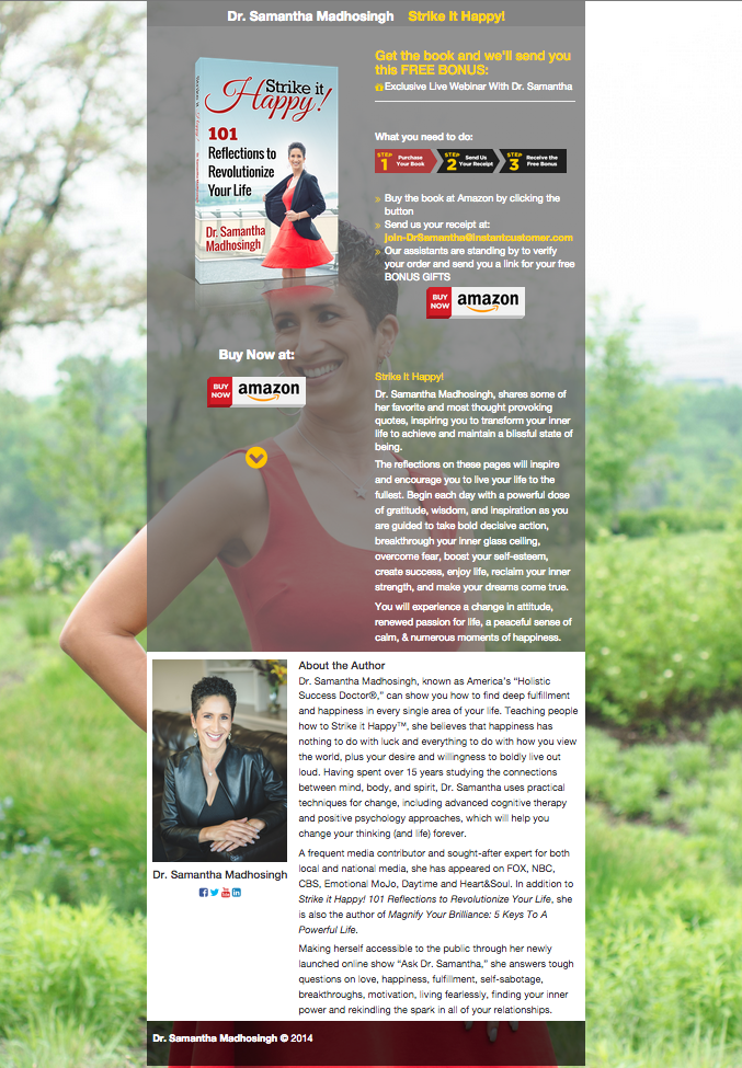 Holistic Success Doctor Author Page