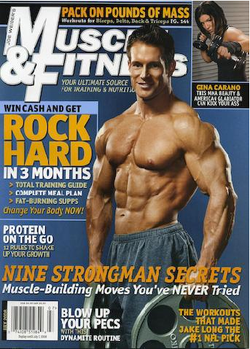 Muscle & Fitness Gina Carano