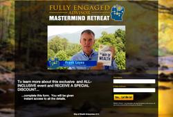 Fully Engaged Advisor - Landing Page