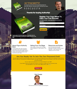 Authority - Author Landing Page