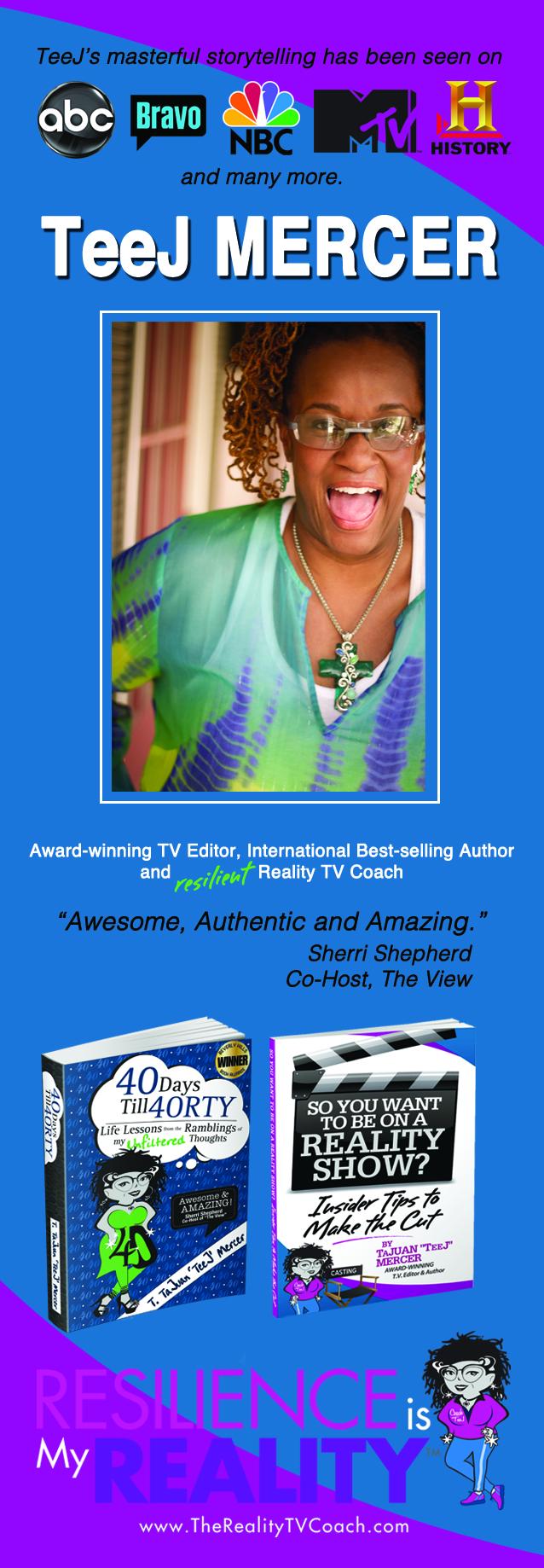 Reality TV Bookmark