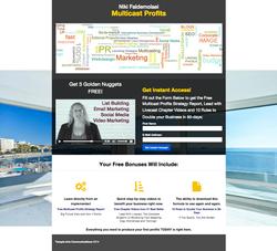 Multicast Profits Landing Page