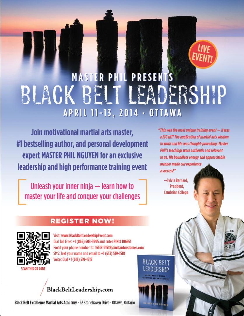 Black Belt Leadership Event