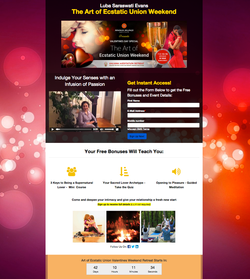 Valentine Event Opt-In Page