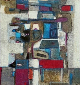 Ilots - 2017 - 50 x 50 cm