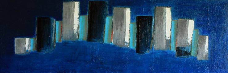 Ailleurs - 2010 - 40 x 120 cm