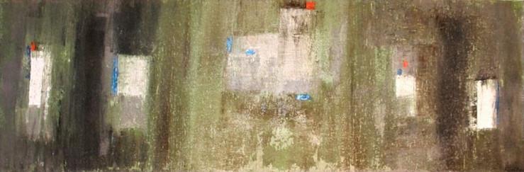 Edifice - 2011 - 40 x 120 cm