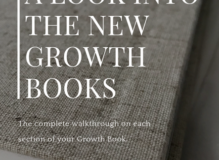 A Look Into The New Growth Books