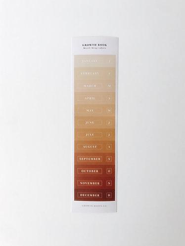 Extra Wrap Label - Sunset