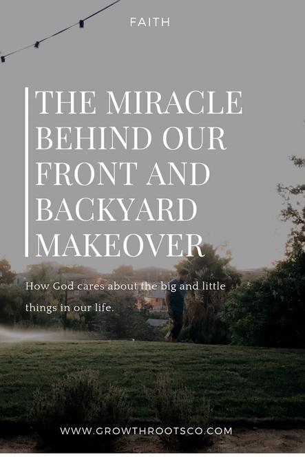 The Miracle Behind Our Front And Backyard Makeover