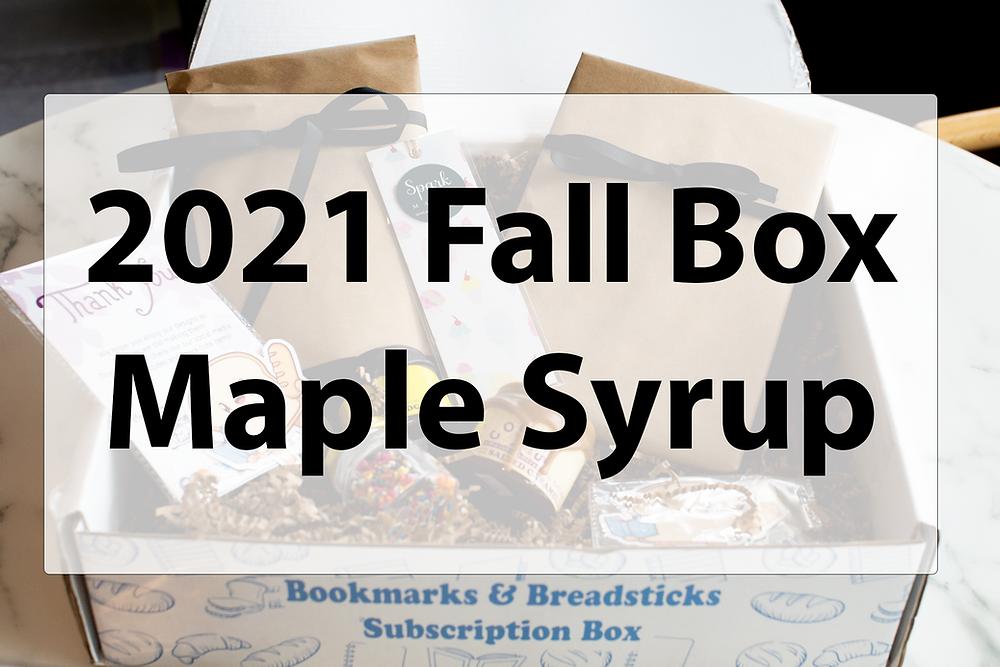 Fall Maple Box