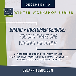 CHEDC_WWorkshop_Social_Brand and Custome