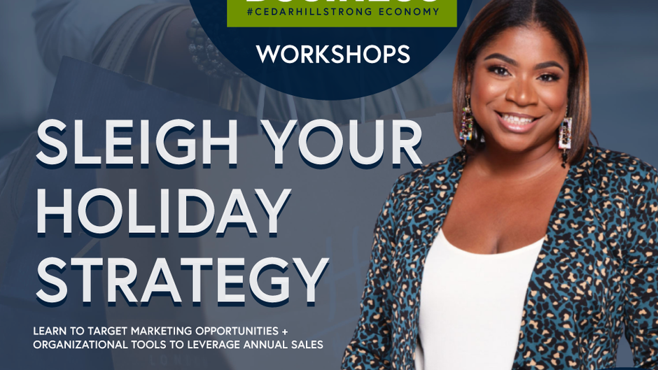 Free workshops for small business owners hosted by the Cedar Hill Economic Development Corporation