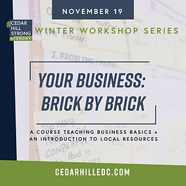 CHEDC_WWorkshop_Social_Business Brick by