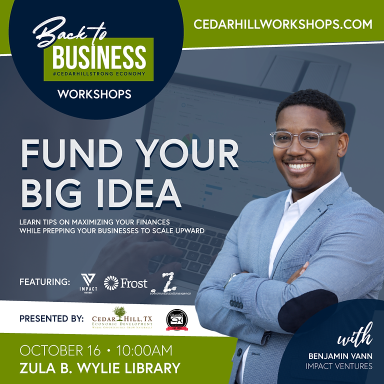 Funding Your Big Idea